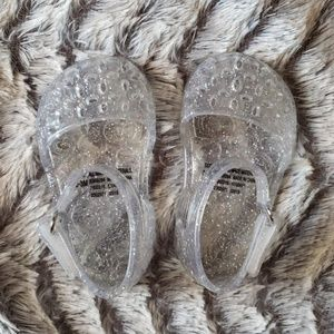 Old Navy. Infant Silver Holographic Glitte…